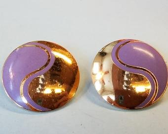 Vintage Laurel Burch Earrings, Laurel Burch, pierced earrings, Laurel Burch earrings