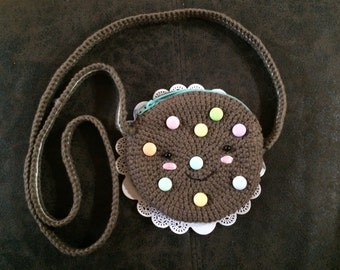 Smarties Candy Cookie Coin Purse!