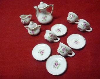 Mini Childs Toy Tea Set