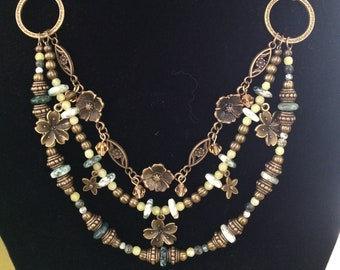 Bold as Brass Necklace