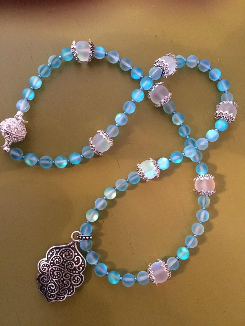 Lumos Maxima Mystic Aura Necklace with silver pendant