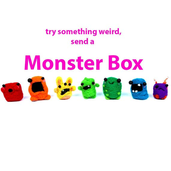 87a47b741409 Mini Monster BOX send a Surprise a single Mini Monster