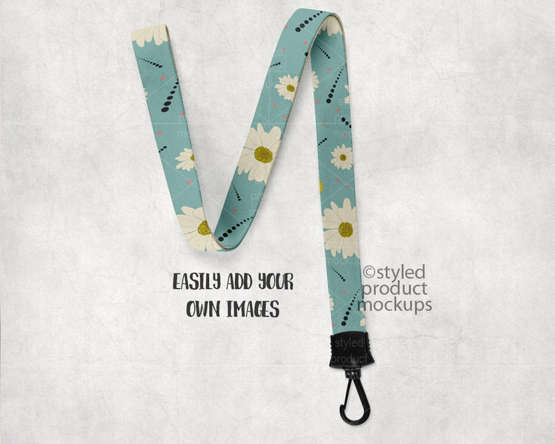c23fc8b314171 Dye sublimation lanyard mockup template   Add your own image and background