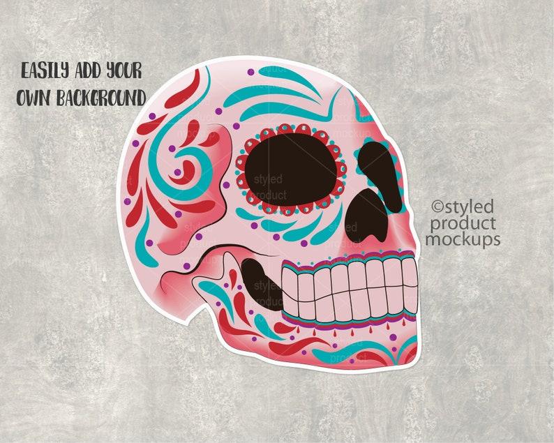 DIY custom sticker shape effects  for mocking up your custom sticker designs