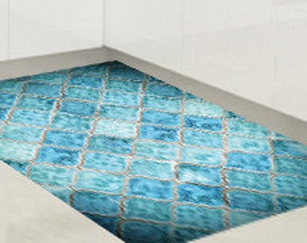 Vinyl floor mat, area rug, kitchen rug, Doormat, pvc rug, floor mat, Floor cloths, living room carpet, pvc rug, floor mat, office rug