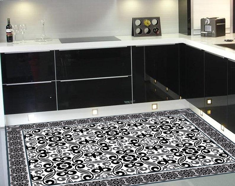 Matte Vinyl Teppich Teppichbereich Teppichküche Linoleum ...