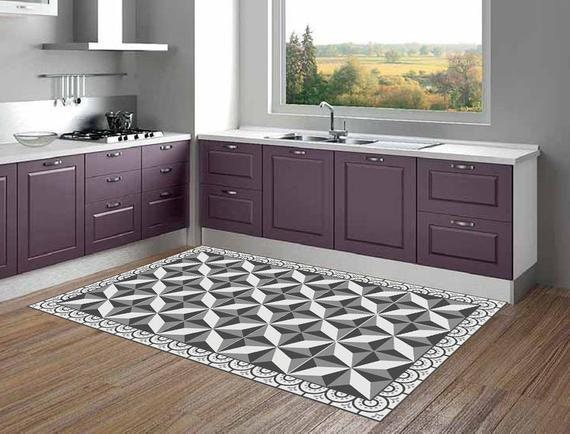 Kitchen rug linoleum rug area rug kitchen mat bath mat floor rug bath mat  Vinyl area rug doormat pet rugs kitchen runner Pvc kitchen mat 012