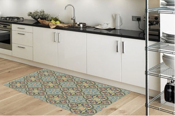 Vinyl-Bodenmatte Teppich Küche Teppich Fußmatte | Etsy