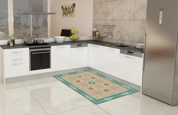 Kuche Teppich Linoleum Teppich Vinyl Bodenmatte Teppich Etsy