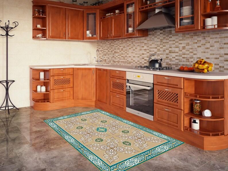Vinyl Teppiche Teppich Teppichbereich Teppichküche Küche ...
