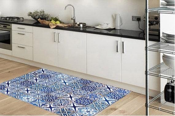 Vinyl Voor Keuken : Vinyl vloer mat gebied tapijt keuken tapijt deur mat pvc etsy