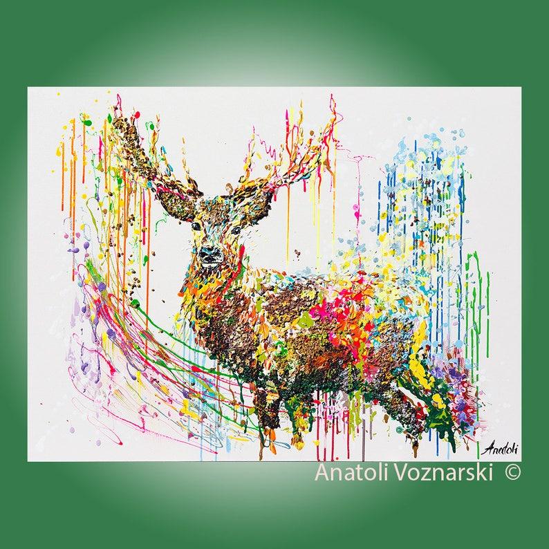 Art Picture Poster Photo Print 3DER Deer