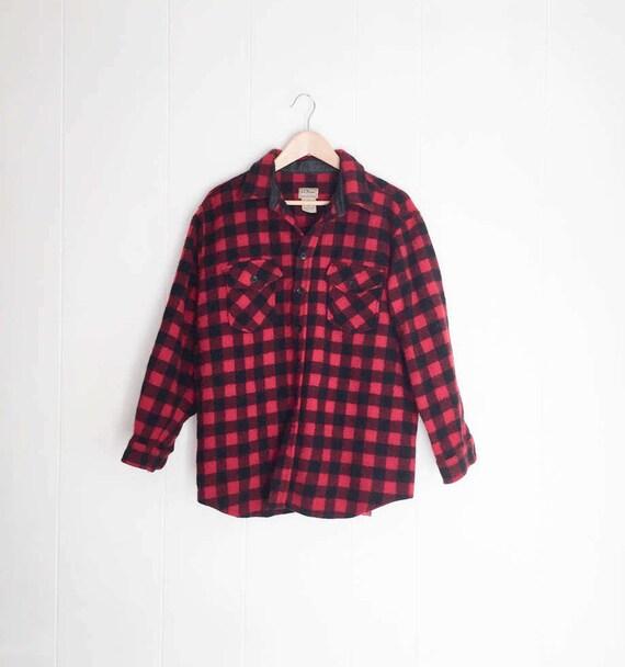red black lumberjack shirt