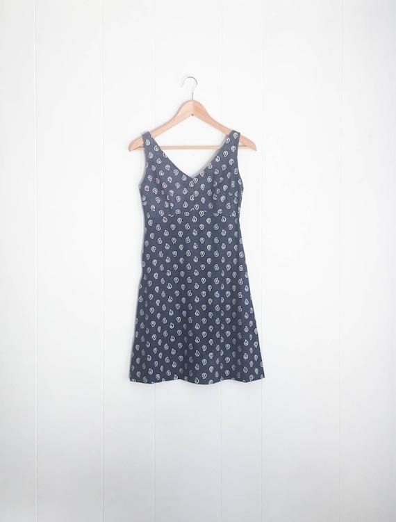 70s Dress - Vintage Dress - 1970s Dress - Paisley