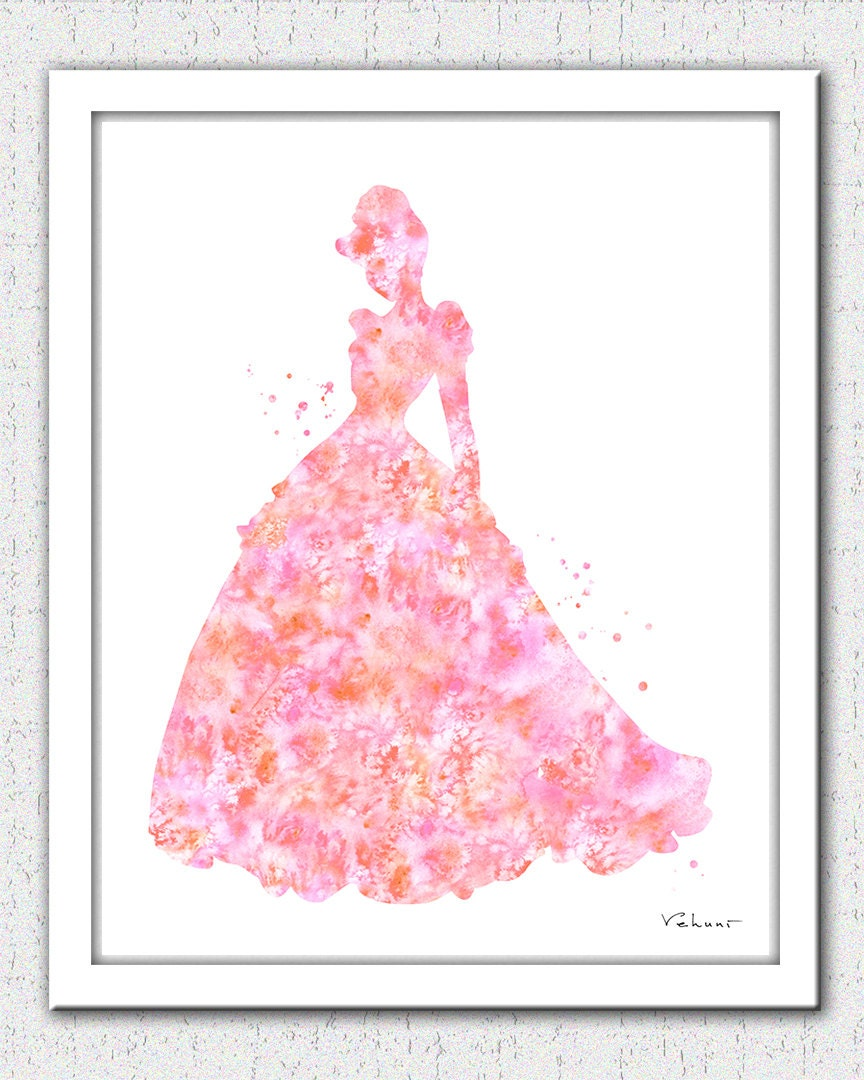 Cinderella Digital Download Disney princess princess   Etsy