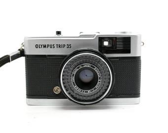 Olympus Trip 35 - 40mm 2.8 Fixed Lens - Vintage 35mm Rangefinder Camera