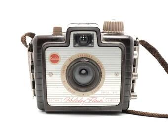 Kodak Brownie Holiday Flash - Vintage Camera - Medium Format