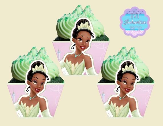 Princess Tiana Cupcake Wrappers