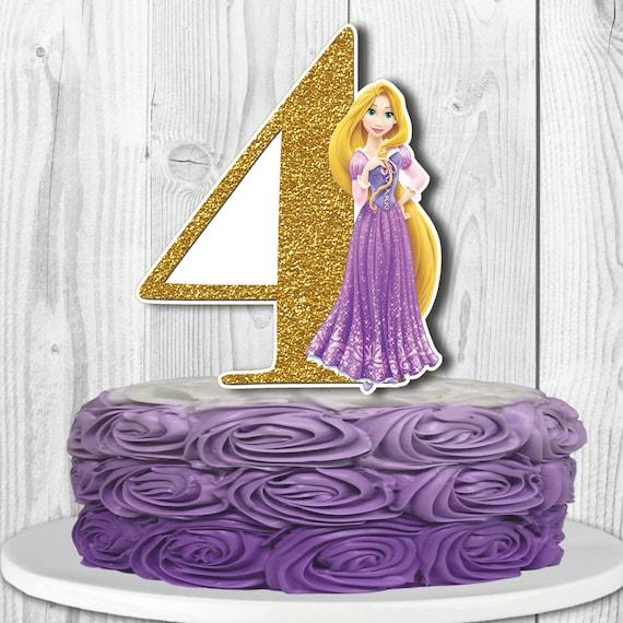 RAPUNZEL Cake Topper Disney Princess Rapunzel Centerpiece