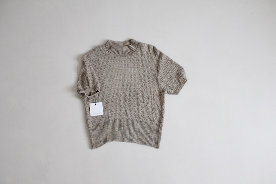 mossy beige sweater | chenille sweater | chenille