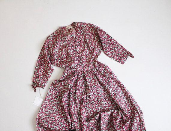 floral silk dress   1950s Jonathan Logan dress   p