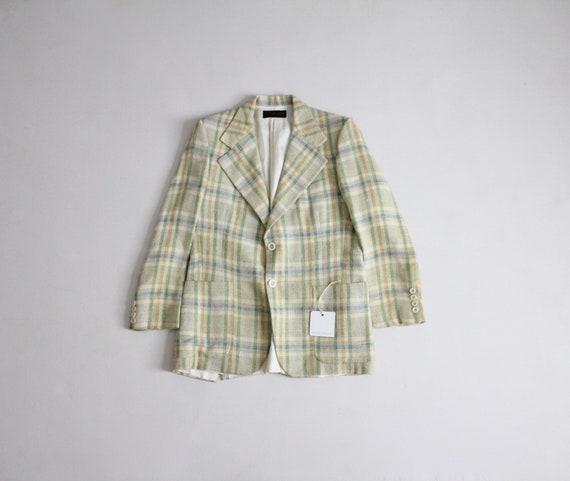 vintage Pierre Cardin sportcoat | men's plaid spor