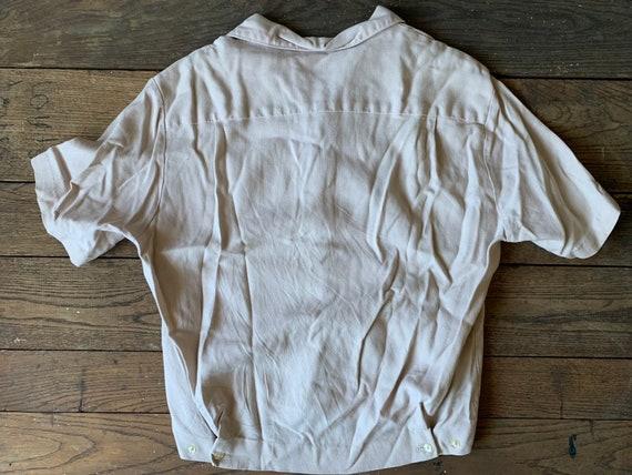 50s IOLANI Hawaiian Tiki Shirt Size S - image 8