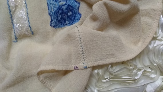 Vintage Hungarian Embroidered Blouse Size S - image 10