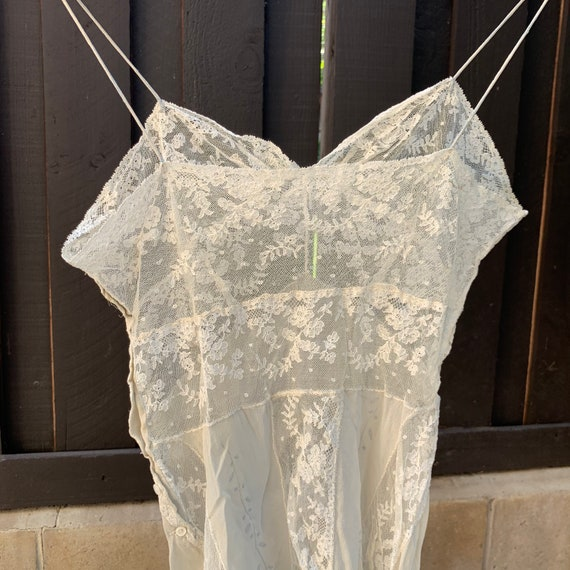 Antique Lace & Silk Tank - image 3