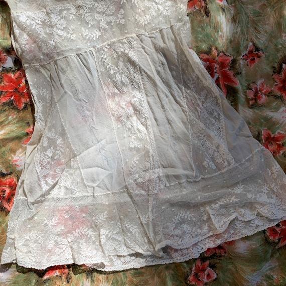Antique Lace & Silk Tank - image 6