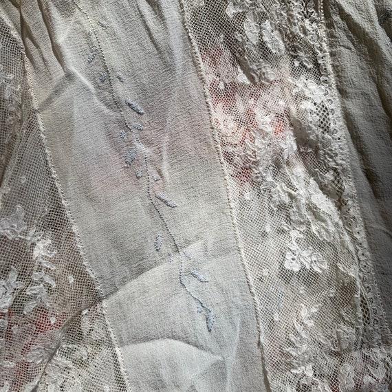 Antique Lace & Silk Tank - image 9