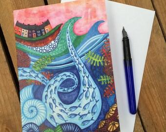 Art Card - Rough Seas