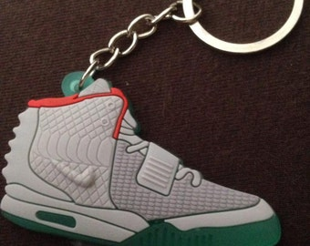 f6193108d4cc Nike Air Yeezy Grey Keychain