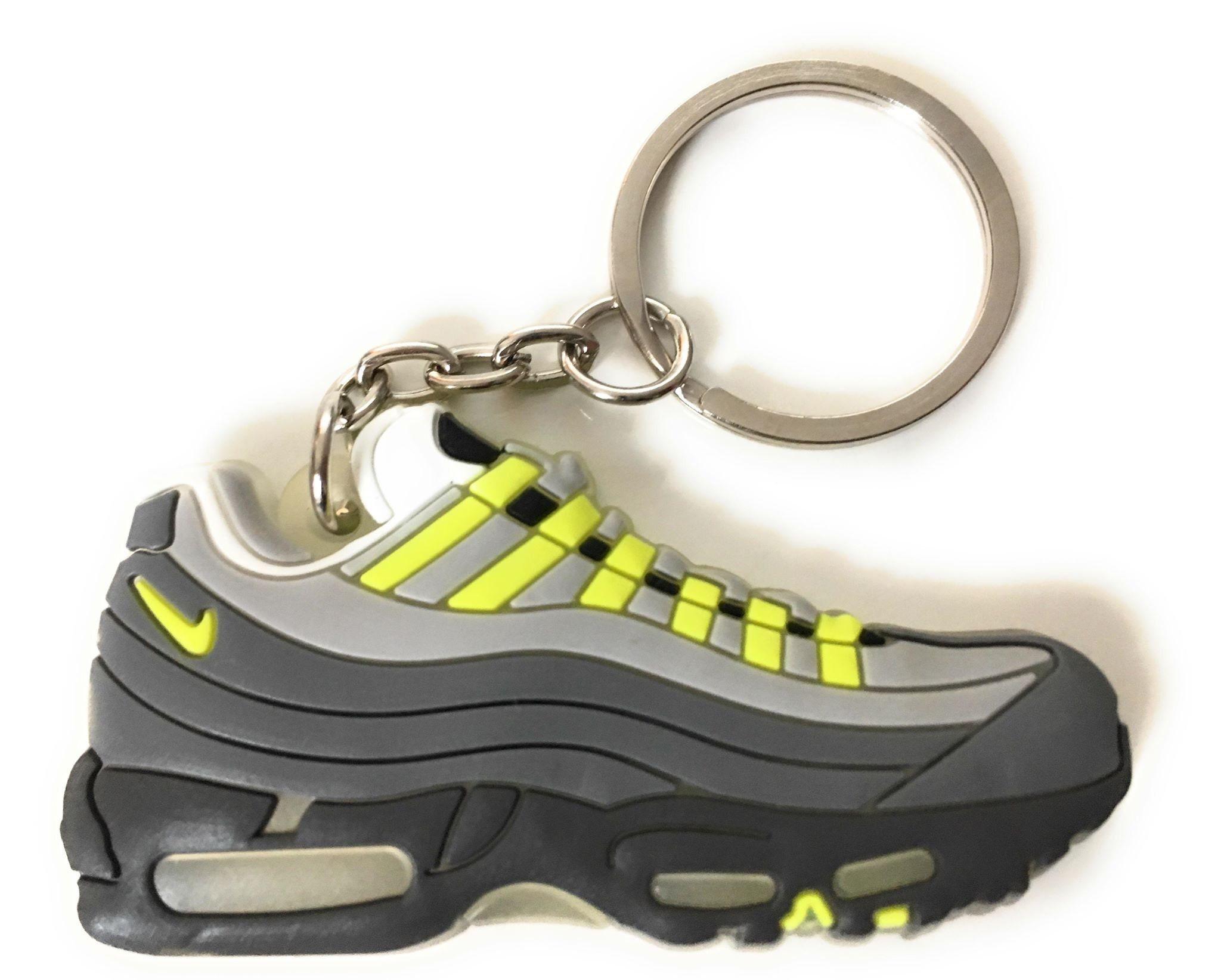 new style 9a46b e8060 Nike Air Max 95 OG Keychain Neon keychain   Etsy