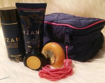 RARE VINTAGE BOXED 1987 Byzance Rochas Eau De Parfum Women's Full Perfume Gift Set