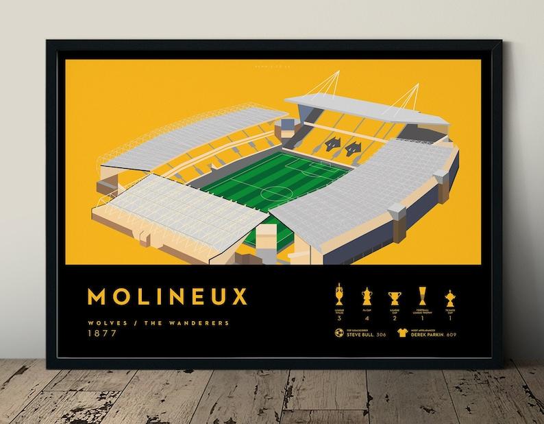 Wolverhampton Wanderers FC Molineux Stadium Wolves Football image 0