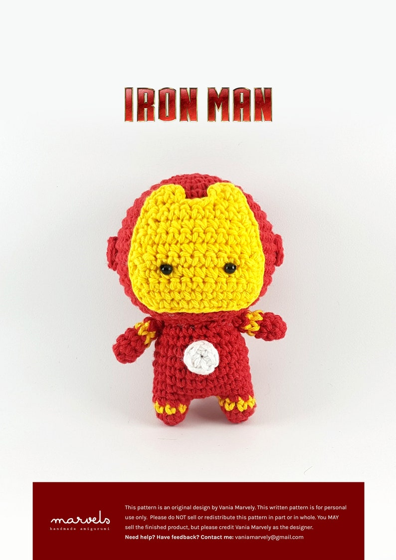PATTERN Iron Man