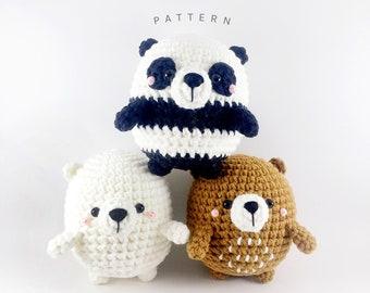 PATTERN: Trio Bears