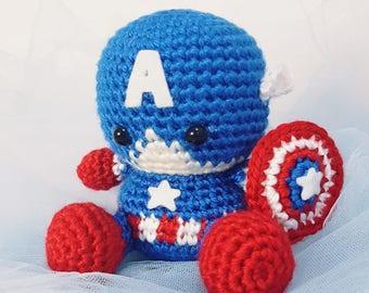 PATTERN: Baby Captain America