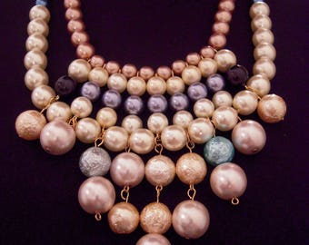 Necklace With Pearls Of Bohemia: Paradise Necklace
