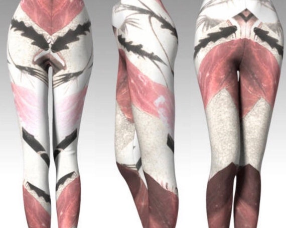 TRIBAL YOGA LEGGINGS Womens Yoga Pants for Women Printed Leggings Print Leggings Art Leggings Tribal Leggings Festival Leggings Yoga Pants
