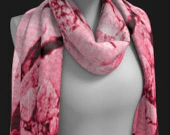 Pink WOMENS SCARF SCARVES Designer Fashion Scarf Square and Long Styles Fashion Accessories Pink Scarf Scarves for Women Easter Gift for Her