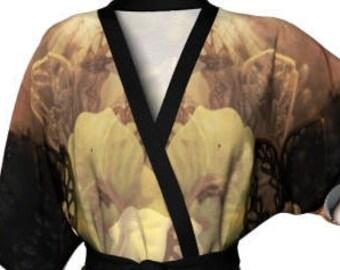 KIMONO ROBE WOMENS Designer Luxury Kimono Japanese Style Kimono Robe Silky Robe Kimono Sexy Lingerie Gifts For Wife Silk Robe Free Shipping