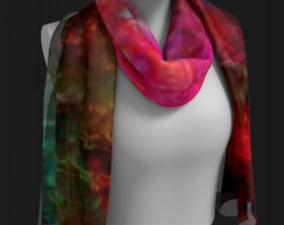 Galaxy RAINBOW SCARF for Women SCARVES Summer Scarf Beach Scarf Designer Fashion Accessories Gift for Wife Gift for Her Gift for Best Friend