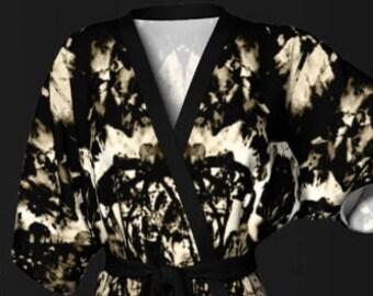 BOHO KIMONO ROBE Womens Japanese Style Kimono Robe Womens Designer Luxury Robe Gifts for Wife Lingerie Mothers Day Gift for Mom Gift for Her