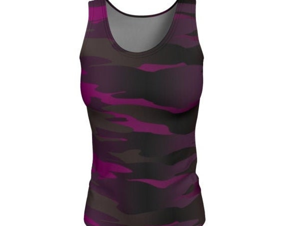 CAMOUFLAGE TANK TOP Womens Camouflage Tank Tops Work Out Top Running Tank Cycling Clothing for Women Yoga Top Camo Print Shirt for Women