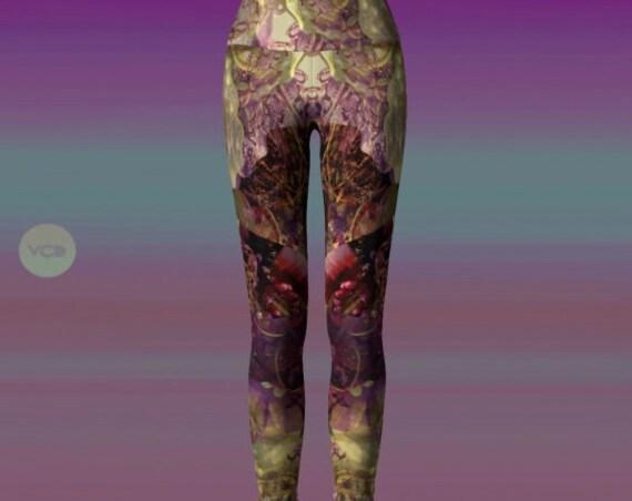 YOGA PANTS LEGGING'S Women's Leggings Designer Yoga Pants Festival Fashion Leggings Art Printed Leggings Art Leggings Womens Winter Leggings