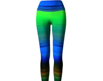 RAINBOW OMBRE LEGGINGS
