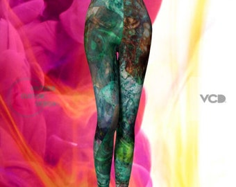 FESTIVAL FASHION Leggings Sexy Print Leggings | Burning Man Leggings | Festival Clothing | Womens | Rave Clothing | Music Festival Leggings