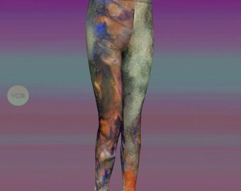 GALAXY LEGGINGS Matching Mommy and Me Leggings Matching Outfit Kids Mom and Daughter Girls Clothing Baby Leggings Toddler Leggings Girls